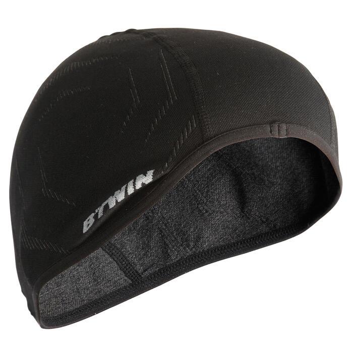 Naadloze ondermuts 500 fietssport zwart