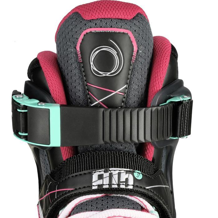 Inline Skates Inliner FIT 500 Kinder grau/rosa