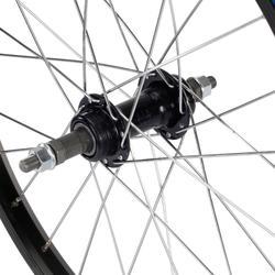 Roue vélo enfant 20 pouces arrière roue libre noir