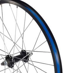 """Rueda Bicicleta Niño 20"""" Pulgadas Delantera Negro"""