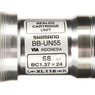 Bottom Bracket Square Taper 118 mm Shimano BBUN55