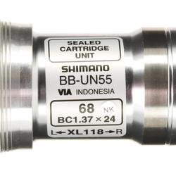 Tretlagergehäuse Vierkant 118 mm Shimano