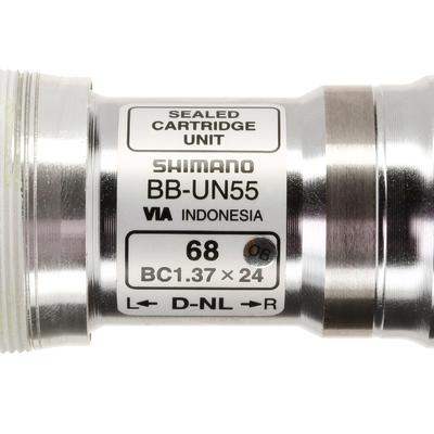 Bottom Bracket Square Taper 122.5 mm Shimano BBUN55