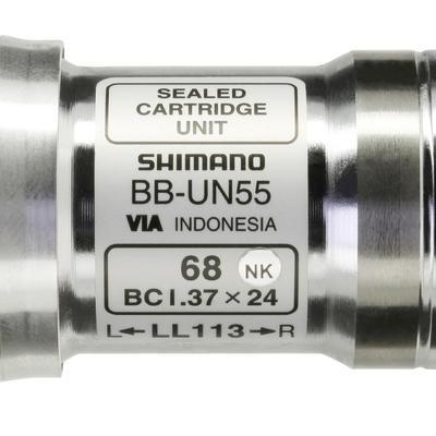 Bottom Bracket Square Taper 113 mm Shimano BBUN55