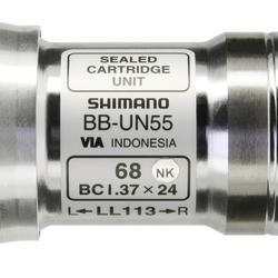 Caja Pedalier Cuadrado 113 mm Shimano Bicicleta