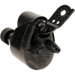 Dynamo met clip voor fietswiel zwart - 1035598