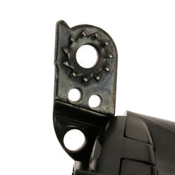 Dynamo met clip voor fietswiel zwart - 1035599