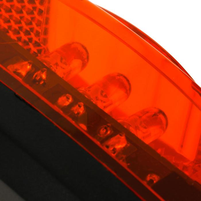 Achterverlichting led 80 mm op batterijen
