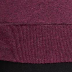Yoga T-shirt in biokatoen voor dames - 1036023