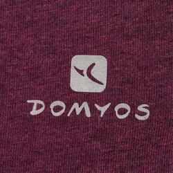 Yoga T-shirt in biokatoen voor dames - 1036028