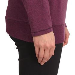 Yoga T-shirt in biokatoen voor dames - 1036030