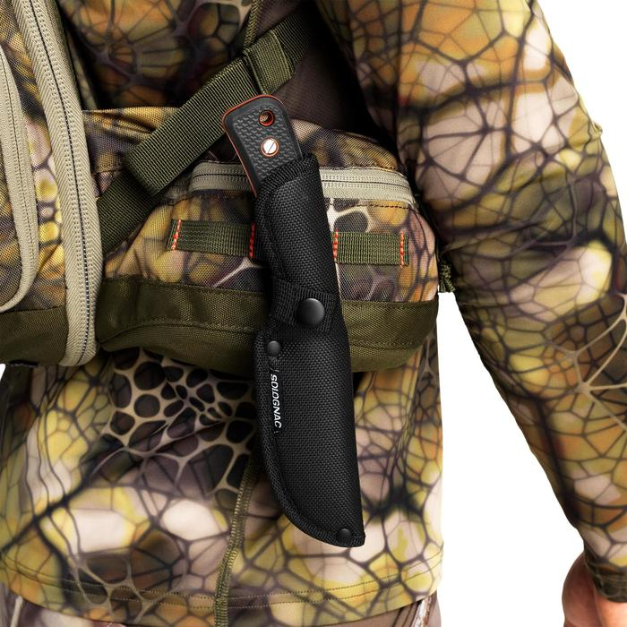 Messer Sika 130 Grip mit feststehender Klinge schwarz
