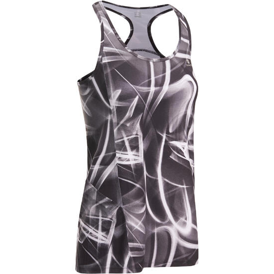 Lange fitnesstop cardio Energy dames ENERGY LONG TOP - 1036411