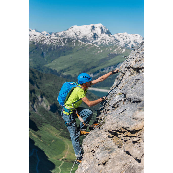 Kletterhelm Rock blau