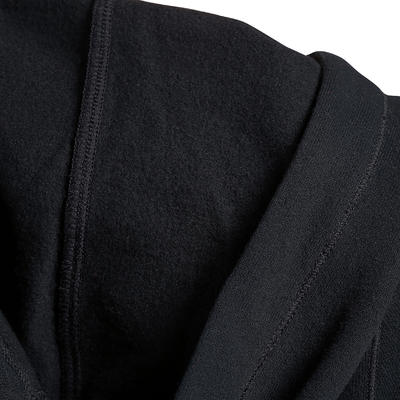 جاكيت رياضي بغطاء رأس - أسود