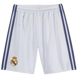 Voetbalbroekje voor kinderen, Thuistenue Real Madrid wit - 1036667