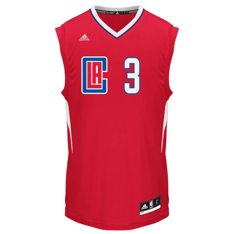 BASKETBALOVÉ OBLEČENÍ Basketbal - DRES NBA CLIPPERS ADIDAS - Basketbalové oblečení a doplňky