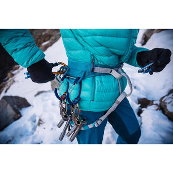 Rack materiaalhouder voor alpinisme