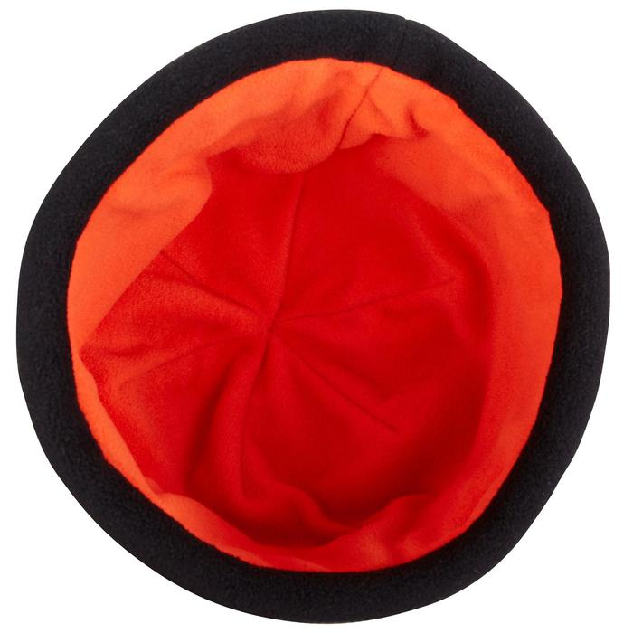 500 Sailing Fleece Hat - Blue/Orange - 1036738