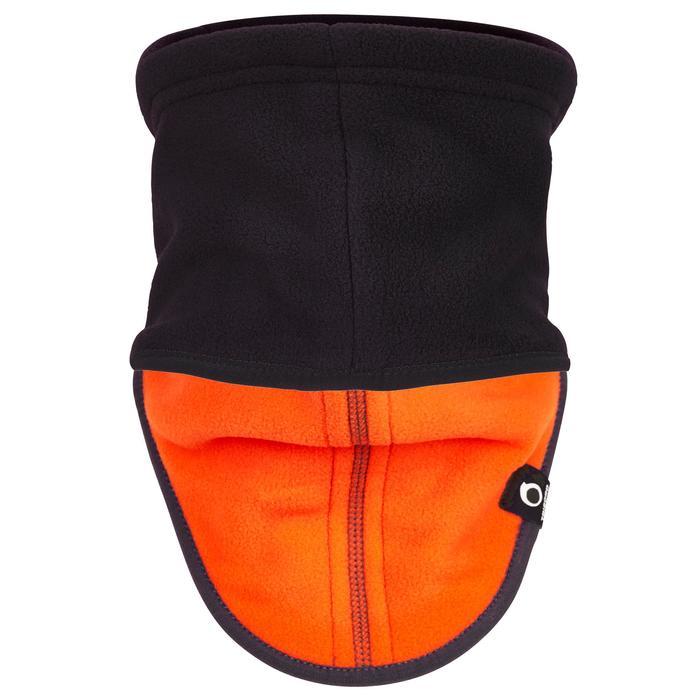 航海運動刷毛圍脖 - 藍色/橘色