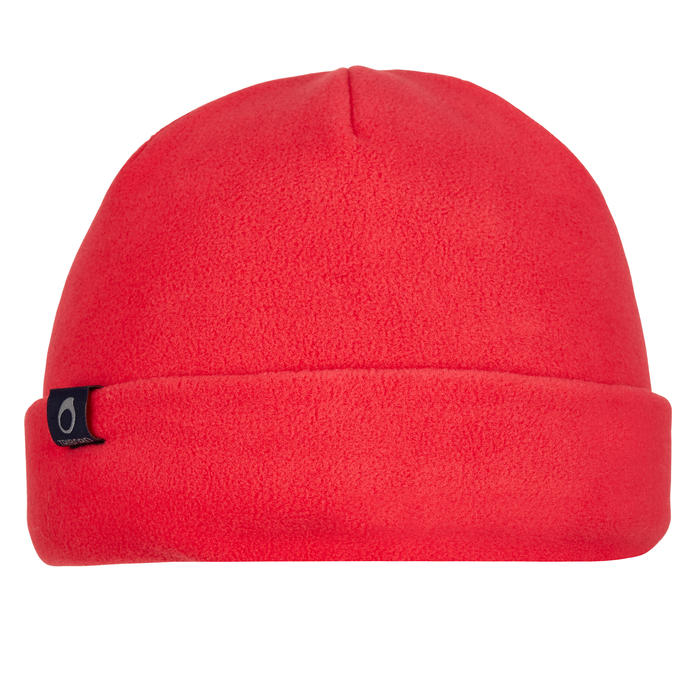 500 Sailing Fleece Hat - Blue/Orange - 1036761