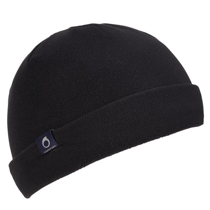 500 Sailing Fleece Hat - Blue/Orange - 1036777