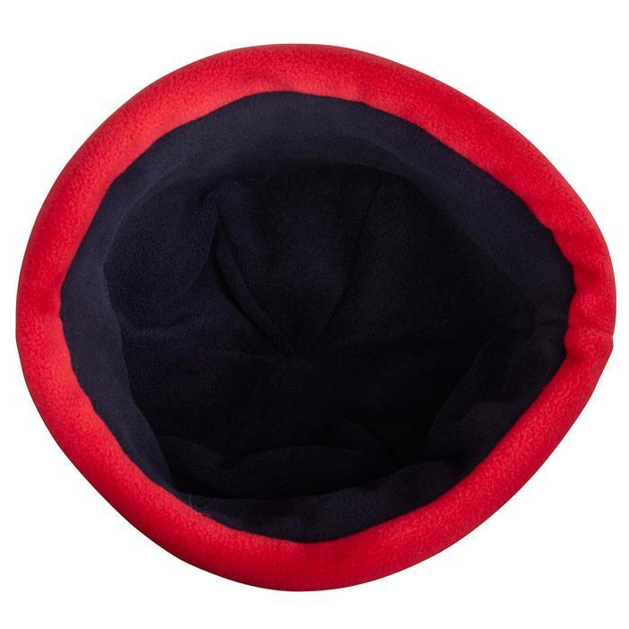 500 Sailing Fleece Hat - Blue/Orange - 1036788