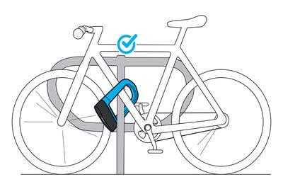 720 Bike U Lock