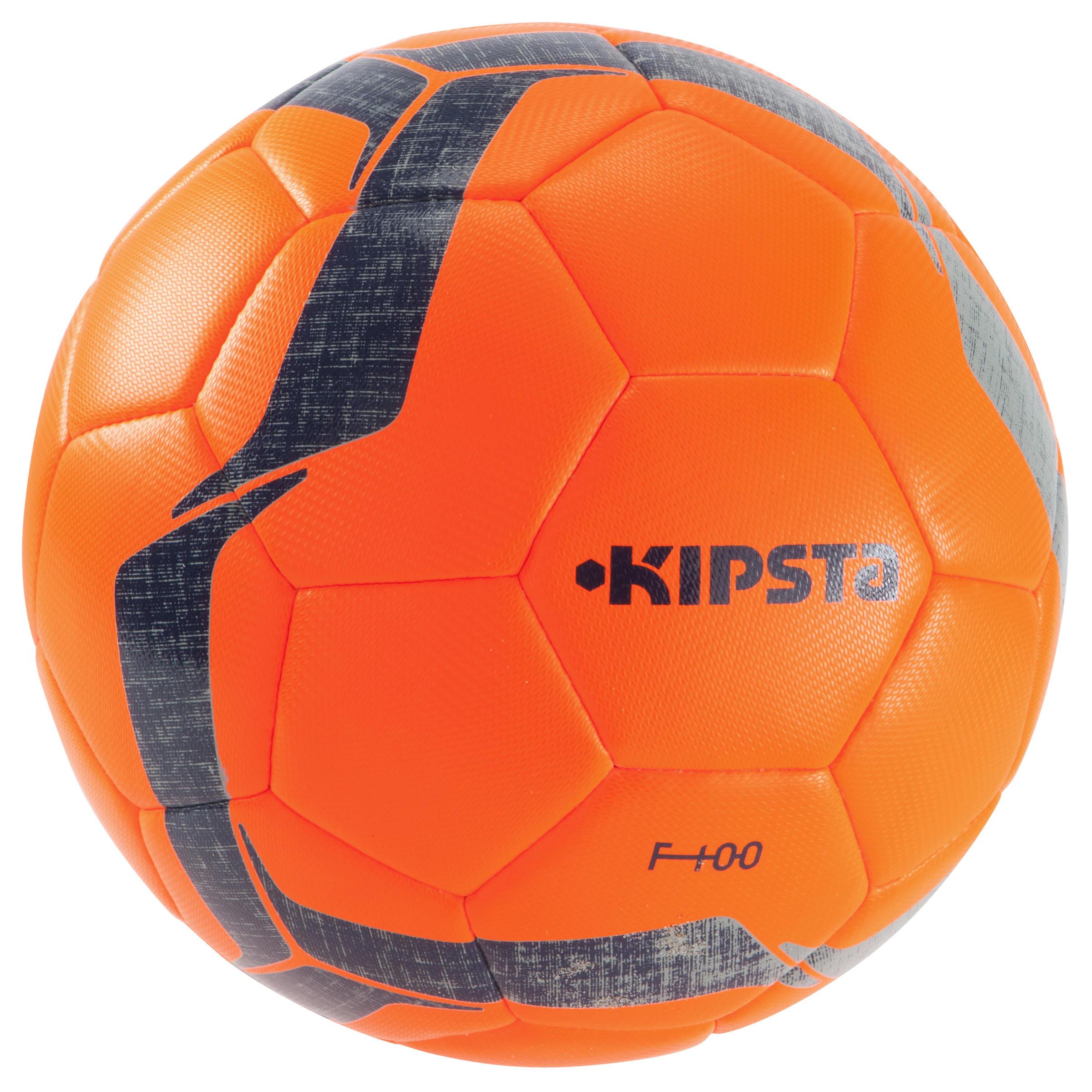 Football ball Size 5 F100 Hybrid - Orange