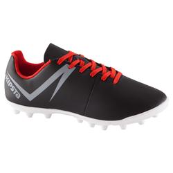 First 100 FG Adult Firm Ground Football Boots - Black/White