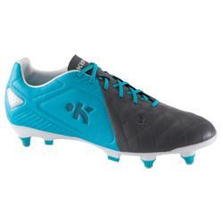 Rugbyschoenen volwassenen drassig terrein Agility 700 Pro SG grijs blauw wit