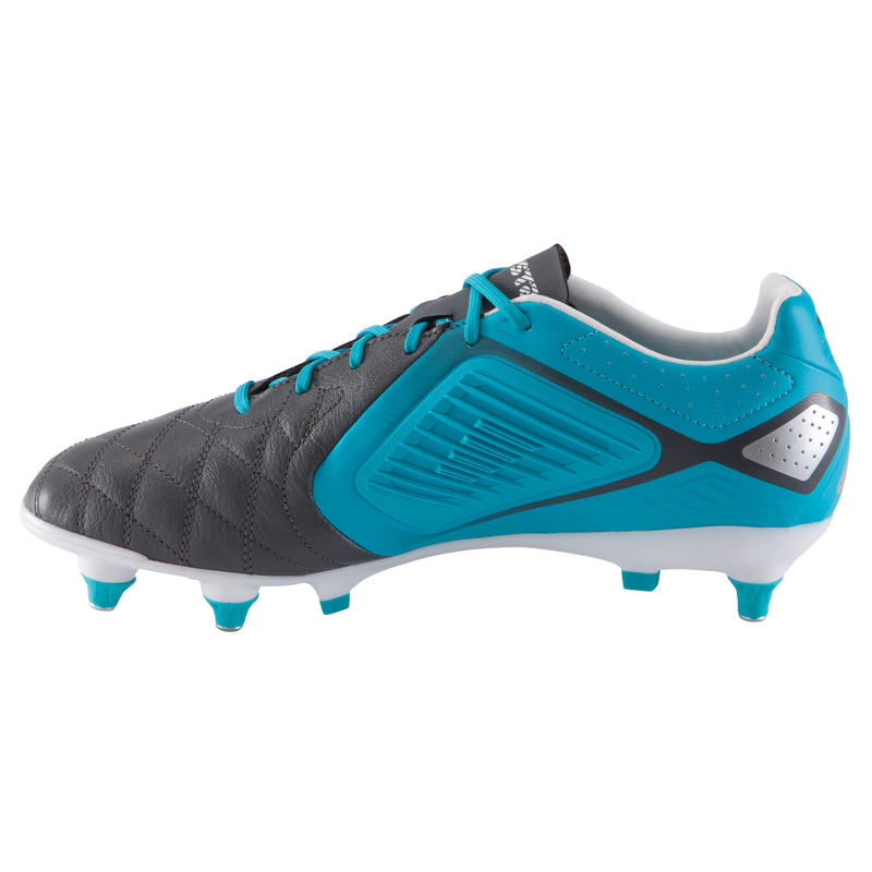 Agility 700 Pro SG Adult Soft Ground Rugby Boots - Grey Blue White