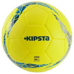 Ballon de football F900 FIFA PRO thermocollé taille 5 jaune bleu gris