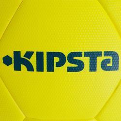 Ballon de football thermocollé F900 FIFA Pro taille 5 jaune bleu gris