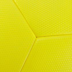 Voetbal F900 FIFA Pro thermisch gelijmd maat 5 geel blauw grijs