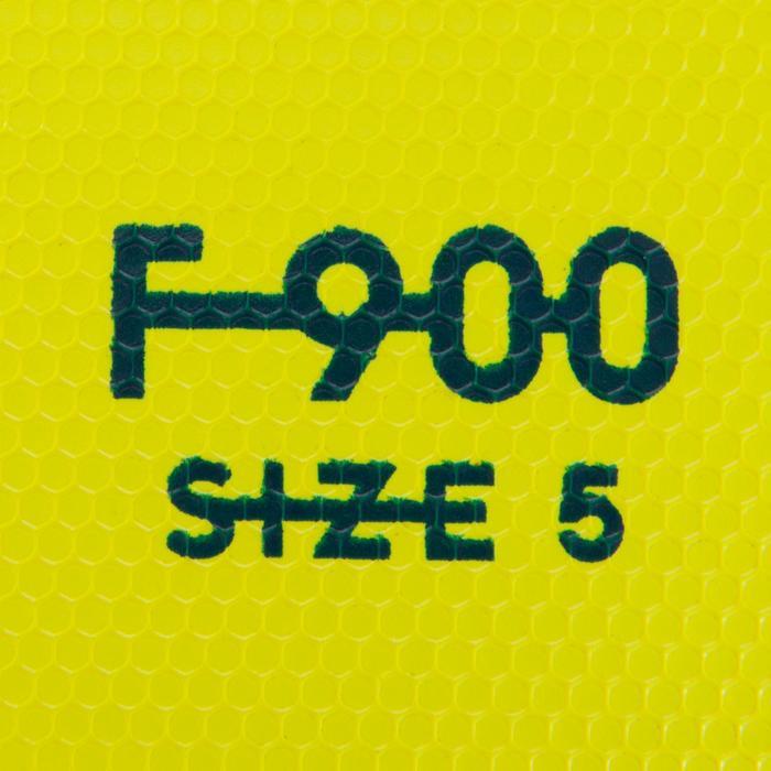 Fußball F900 FIFA Pro thermogeklebt Größe5 gelb/blau/grau