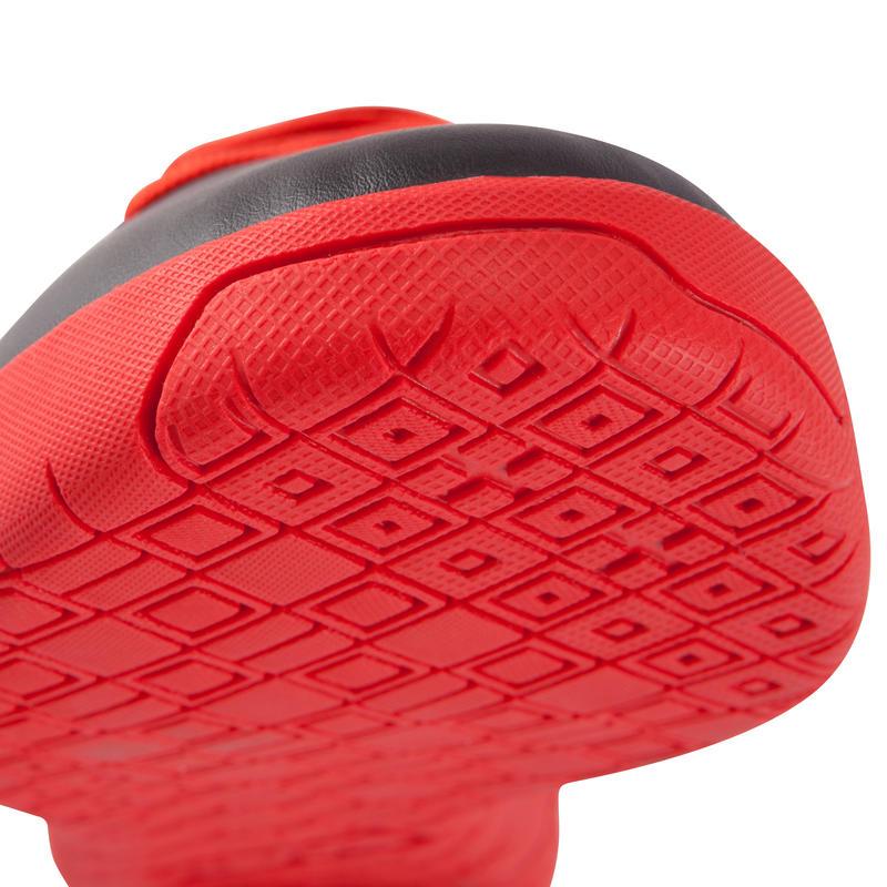 Zapatillas de futsal para adulto First 100 sala negras rojas