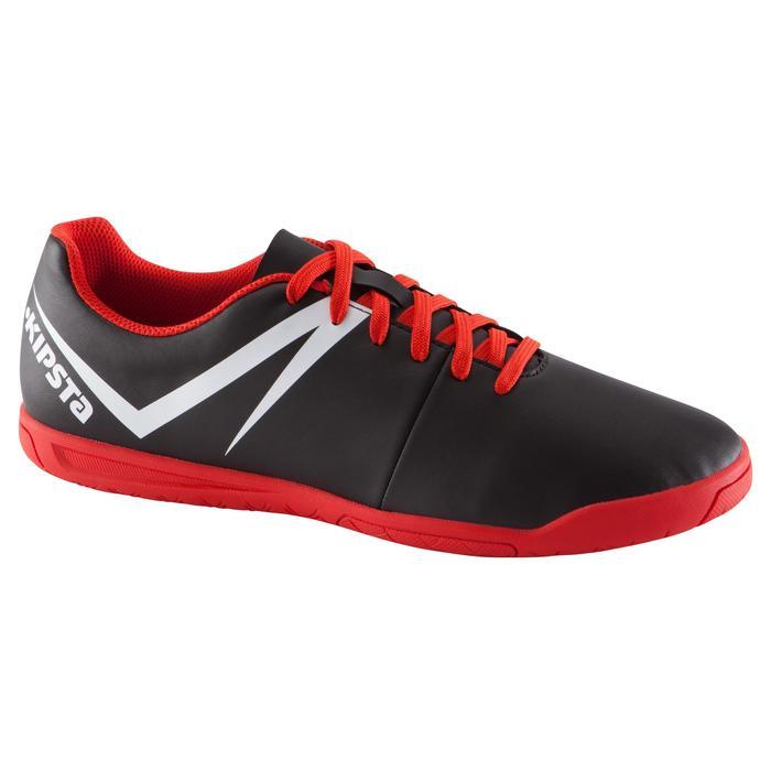 Chaussure de futsal adulte First 100 sala noire rouge