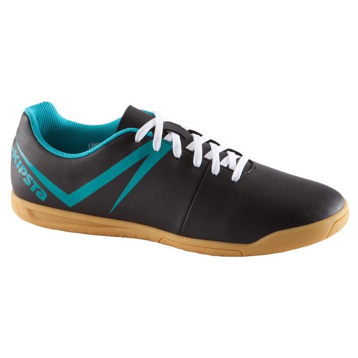Chaussure de futsal adulte First 100 sala noire bleue - 1037034