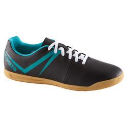 Zapatillas de fútbol sala para adulto First 100 sala negro azul
