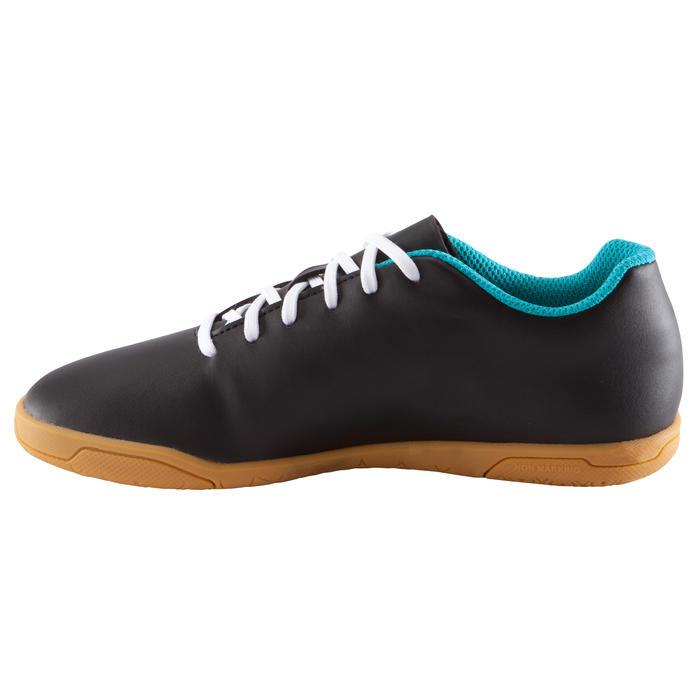 Kipsta chaussure de futsal enfant first 100 noire blanche - Chaussure enfant decathlon ...