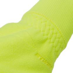 Fietshandschoenen 100 winter fluogeel