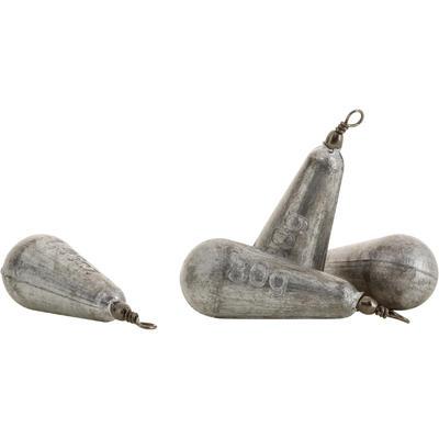Swivel pear fishing sinker