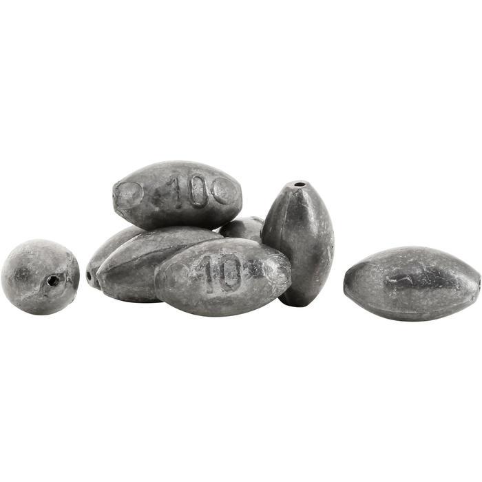 Lest pêche Olives bombées percées - 1037227
