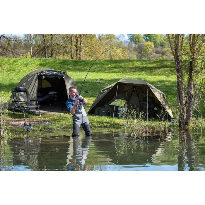 Bivvy pêche de la carpe TANKER FRONTVIEW