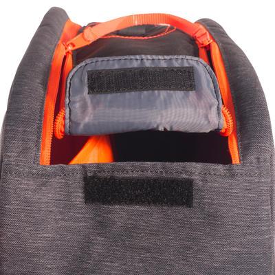 תיק מחבטים קטן מסוג Essential 730 - אפור/כתום