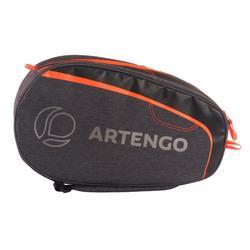 Tennistas 100 S grijs/oranje