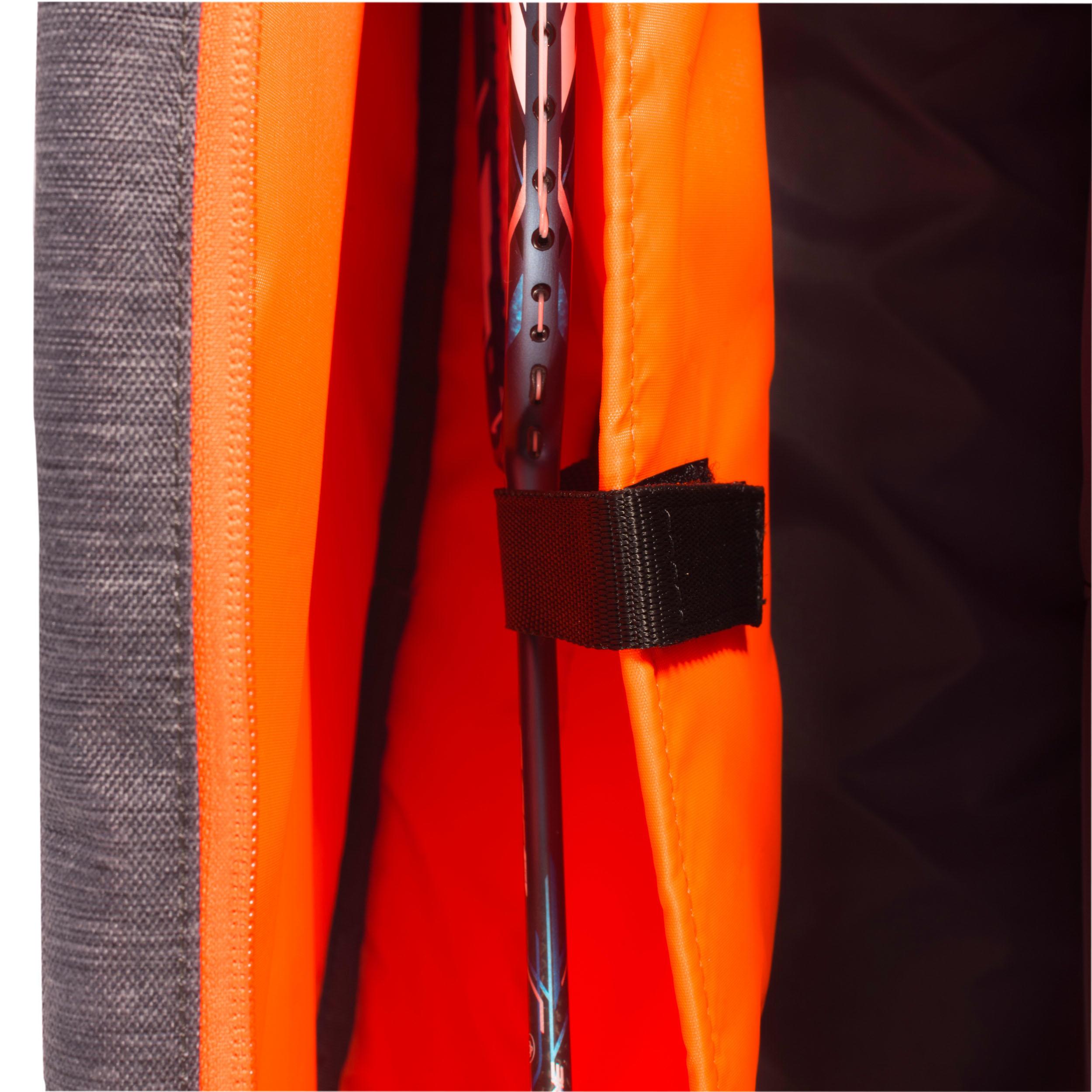 Bag Racket Sports - SB130 small Grey/Orange