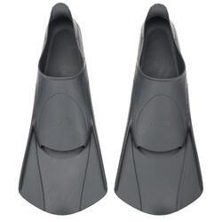 Korte zwemvliezen Easyfins grijs