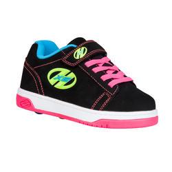 Schoenen op wieltjes Heelys Dual Up voor meisjes fluokleuren